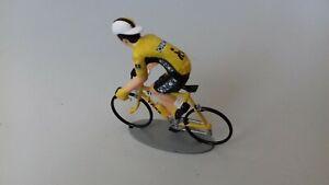 cycliste miniature, échelle 1/32, équipe Once, Laurent Jalabert