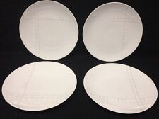 Studio Nova Park Avenue Grid Y0742 Dinner Plate EUC Set Of 4