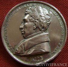 MED2623 - MEDAILLE MATHIEU DE DOMBASLE - RACE CHEVALINE ROANNE 1856