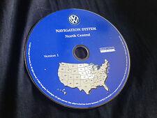 2004 VW TOUAREG NAVIGATION MAP DISC CD 3 N CENTRAL ND SD NE KS MO IL IA WI MN