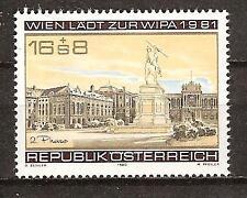 Austria # B 344 Mnh Hero'S Square Vienna
