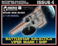 More details for eaglemoss battlestar galactica collection: viper mark i model ship issue 4 new