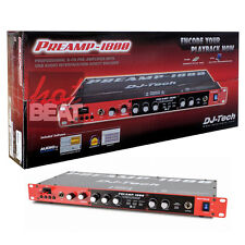 DJ Tech PREAMP 1800 8 Channel Preamplifier w/ USB Audio Interface 110V-240V