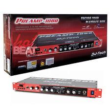 DJ Tech PREAMP 1800 8 Channel Preamplifier w/ USB Audio Interface 110V-240V