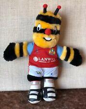 Bertie Bee Burnley mascot cuddly toy