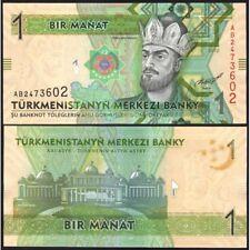 TURKMENISTAN  1 Manat 2012 UNC P 29 a