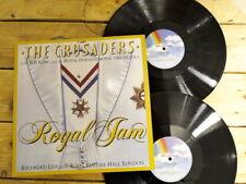 THE CRUSADERS B B KING ROYAL JAM 2LP 33T VINYLE EX COVER EX ORIGIN 1982 GATEFOLD