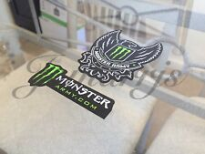 Authentic Monster Army Energy Drink Athlete Sponsor 2-in-1 Sticker Decal BMX