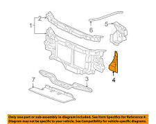 GM OEM Radiator Core Support-Side Brace Right 22948883