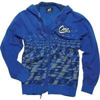 One Industries Mens PHASE Blue Zip Hoodie Sweatshirt Hoody 36055-002 MX ATV SALE