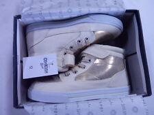 Toddler Girls Oshkosh bgosh Evie-G gold shoe new nib size 12