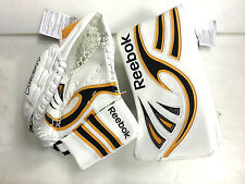 SPECIAL New ice hockey goalie blocker catcher intermediate Reebok off hand set