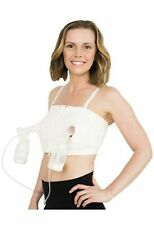 Hands Free Breast Pump Bra XS to L Adjustable Sizing New Pink