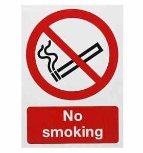 """Safety Sign""""No Smoking"""", A5, Self-Adhesive"""