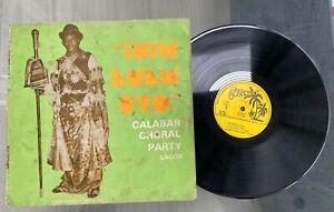 "Calabar Choral Party Lagos ""Inim Enem Uyo"" 1985 Afro Highlife LP Coconut Nigeria"