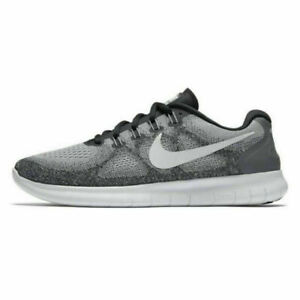 Nike Mens Free RN 2017 Running Shoes Gray 880839-002 Low Top Sneakers Sz 9.5