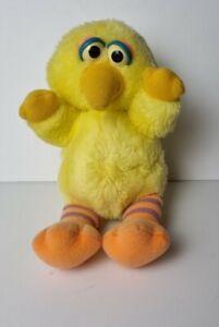 Vintage Sesame Street Baby Big Bird Hasbro Softies Plush