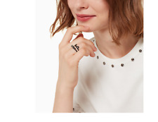 Kate Spade Out West Cat Ear Ring Size 7