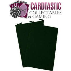 Chessex Dice Bag Suedecloth Small Green CHX02375