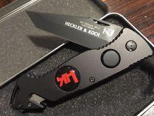 *NICE Heckler & Koch Hershaw Tactical Rescue Survival HK Knife EDC Army EMT