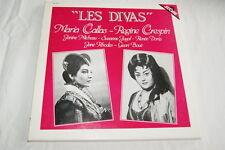 OPERA LES DIVAS CALLAS CRESPIN 2 LP VINYLE