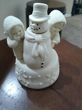 """Music Box Snowbabies """"Did He See You""""- Retired Design In 2001"""