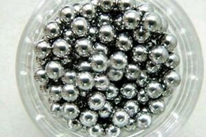 Stainless Steel Beads Made for Nail Polish Bottles. 26 x Small Mixing Beads