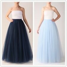 Vintage Style TUTU Tulle Skirt Pettiskirt Bouffant High Waist Princess Womens