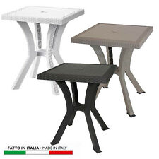 Tavoli da esterno in plastica bianca | eBay