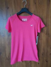 NEW BALANCE MINIMUS X-STATIC Pink Short Sleeve T-Shirt Top M /UK 8-10/ 36-38 NEW