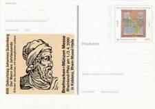 Duitsland Bund Postkarte 100 pfennig - Johannes Gutenberg (013)