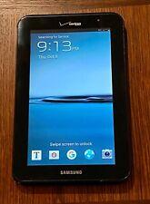 Samsung Galaxy Tab 2 SCH-I705 8GB, Wi-Fi + 4G (Verizon), 7in - Black