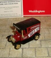 LLEDO - PROMO - 1920 MODEL T FORD VAN - WADDINGTONS PLAYING CARDS  - LTD EDITION