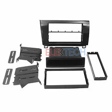Toyota Tundra Sequoia Radio Dash Install Mount Kit Dble Din Pocket Metallic Grey