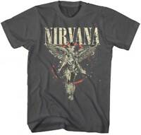Nirvana Galaxy in Utero S, M, L, XL, 2XL Asphalt T-Shirt