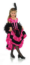 Can Girls Girl Western Saloon Dancer Halloween Costume