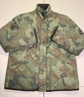 Crewcuts JCREW Boys Camo Quilted Field Jacket - Youth 10 or Medium