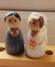 Matrimonio Sposa E Sposo Cake Topper
