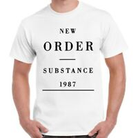 New Order Substance 1987 Alternative New Wave Joy Division Retro T Shirt 732