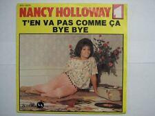 NANCY HOLLOWAY 45 TOURS FRANCE BYE BYE