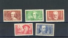 France 1936-7   Scott# B48, B50-3  mint LH