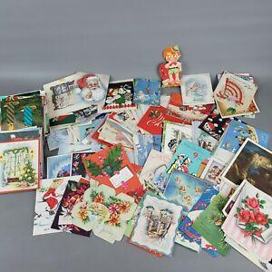 Massive 40's 50's Vintage Christmas Valentines Birthday Greeting Cards Lot