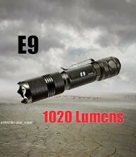 PowerTac E9 1020 Lumens LED Flashlight CREE XML-U2