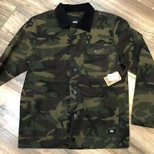Vans New Drill Chore Jacket Camo Jacket Men's Medium