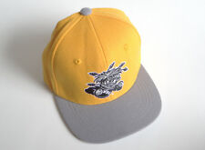 Wichita State SHOCKERS WSU Zephyr Z Fit Fitted Cap Hat Size S Child Yellow Grey