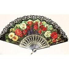 Spanish Hand Fan Decorative Design 5 LW