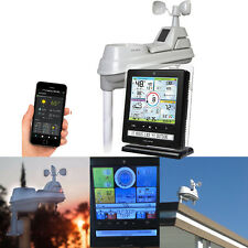 5-in-1 Wireless Weather Station Sensor w/ Smart PC Phone Connect Remote Monitor