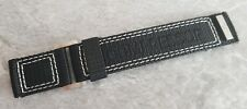 OEM Genuine Jaeger-LeCoultre Master Compressor 23mm Black Dive Strap UNUSED