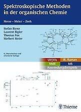 Spektroskopische Methoden in der organischen Chemie von S.Bienz 2016 AA 107057
