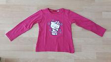 SHIRT VON HELLO KITTY PINK GRÖSSE 110/116